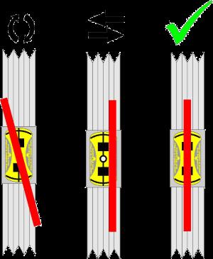 Alineador laser de poleas Mounting of PAT