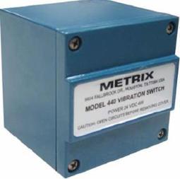 Vibroswitch Electrónico Metrix 440/450