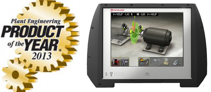 Fixturlaser NXA Pro Product of the Year 2013