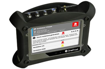 Analizador de vibración FALCON Auto-controller